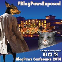BlogPawsExposed Blog Hop BlogPaws Conference 2014