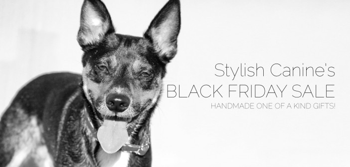 Black and White Black Friday Sale at Stylish Canine