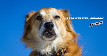 godaddy puppy ad